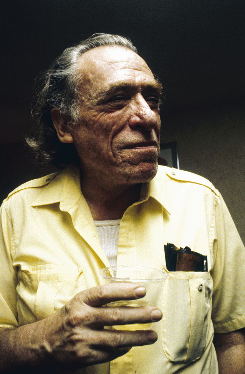 March 1981, Los Angeles, California, USA --- American Writer Charles Bukowski --- Image by © Fabian Cevallos/CORBIS SYGMA