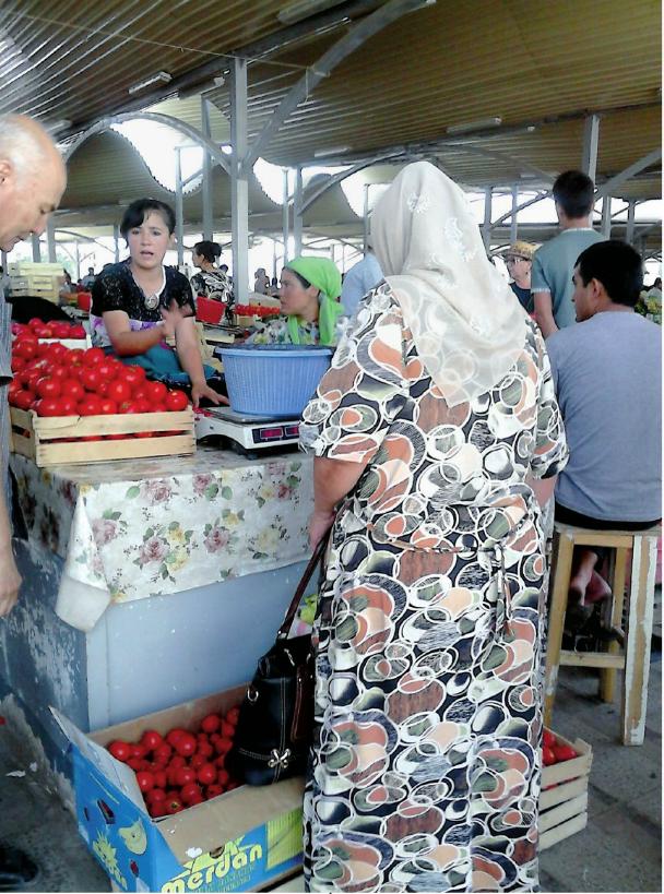 mercado en taskent