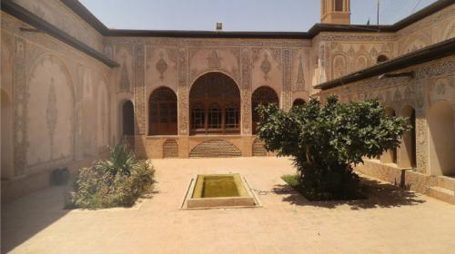 Casa del mercader Borujerdi en Kashán.