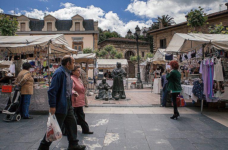 Crónicas del Oviedo Antiguo (V): Comercio variado, variopinto, de calidad