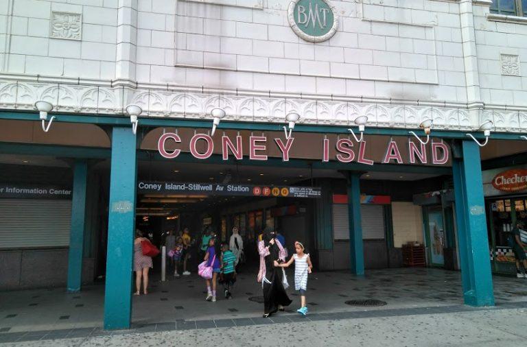 Coney Island, en el sur del condado de Brooklyn